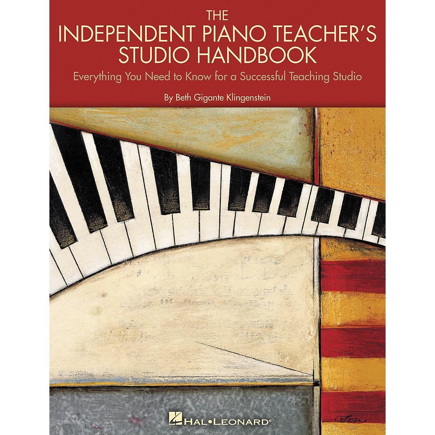 Hal Leonard The Independent Piano Teacher's Studio Handbook thumbnail