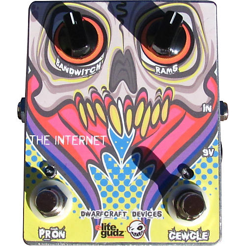 Dwarfcraft The Internet Overdrive Guitar Effects Pedal-thumbnail