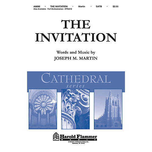 Shawnee Press The Invitation (Shawnee Press Cathedral Series) ORCHESTRATION ON CD-ROM Composed by Joseph M. Martin thumbnail
