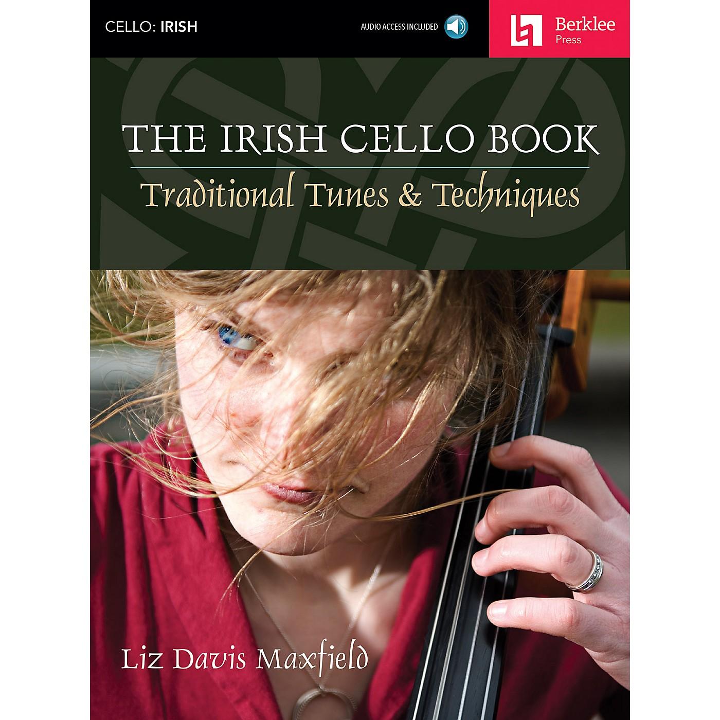 Berklee Press The Irish Cello Book Berklee Guide Series Softcover with CD Written by Liz Davis Maxfield thumbnail