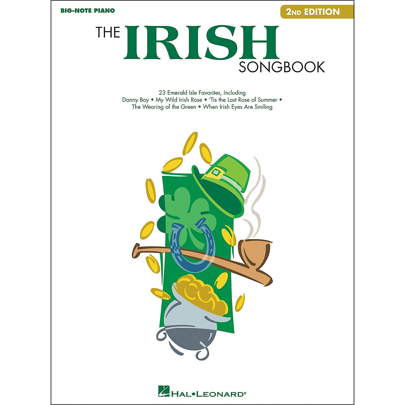 Hal Leonard The Irish Songbook - 2nd Edition for Big Note Piano thumbnail