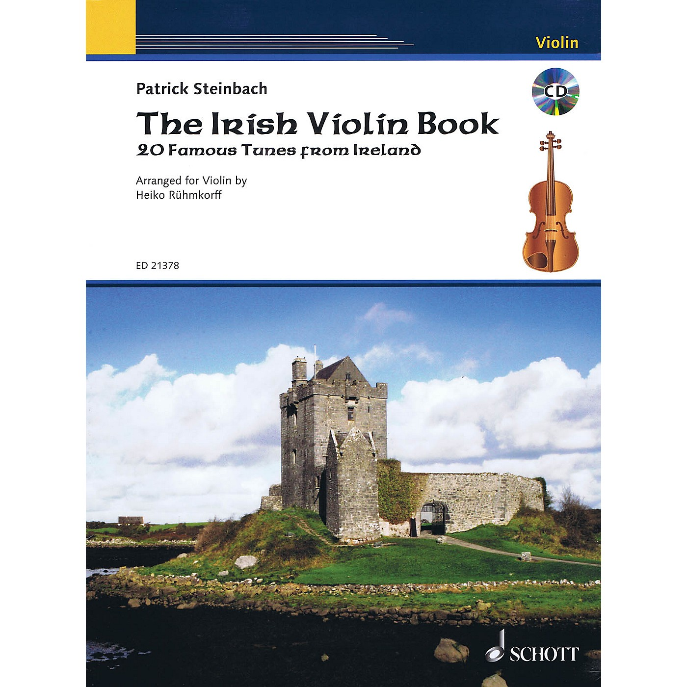 Schott The Irish Violin Book String Series Softcover with CD thumbnail