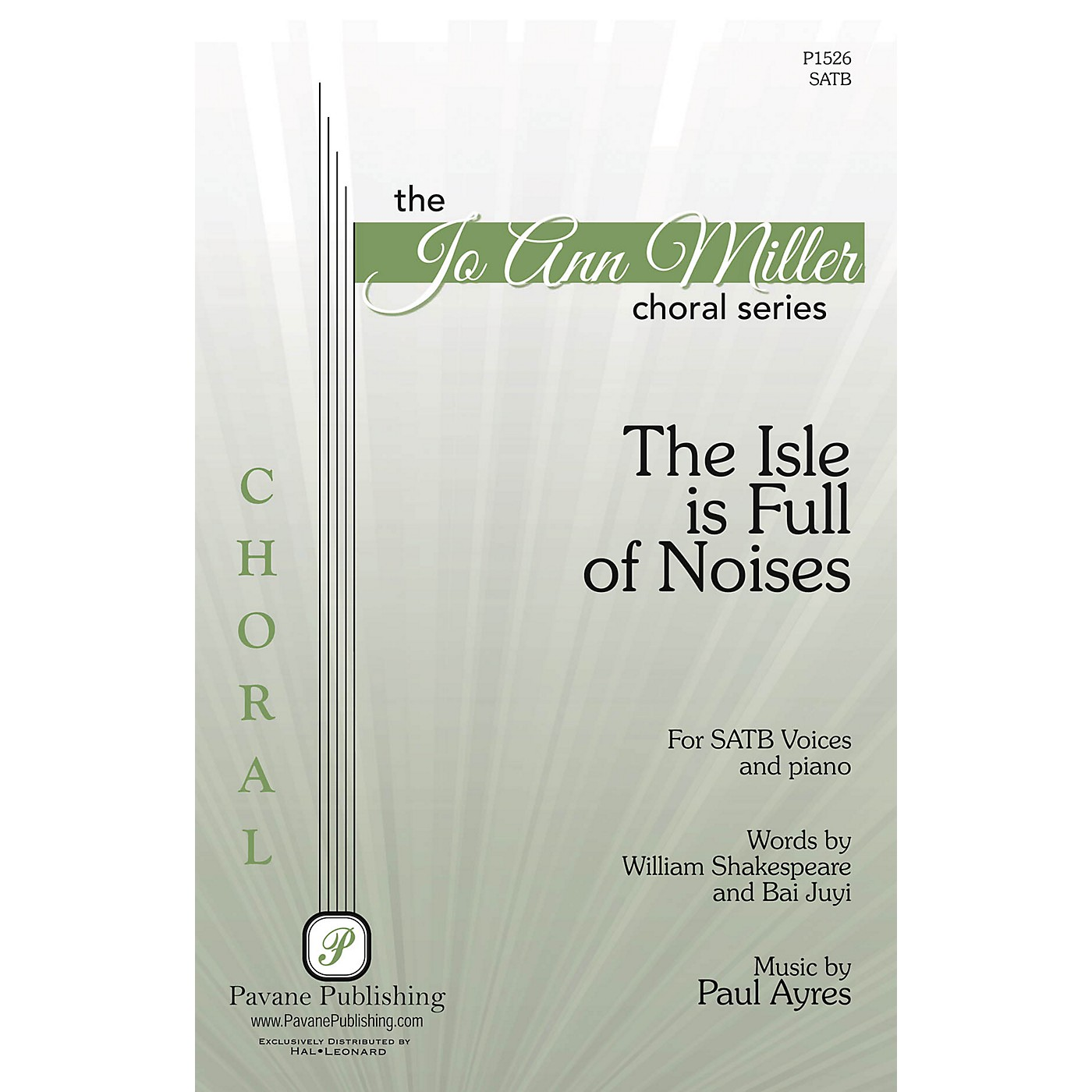 Pavane The Isle Is Full of Noises SATB composed by Paul Ayres thumbnail