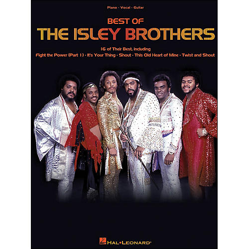 Hal Leonard The Isley Brothers Best Of arranged for piano, vocal, and guitar (P/V/G) thumbnail