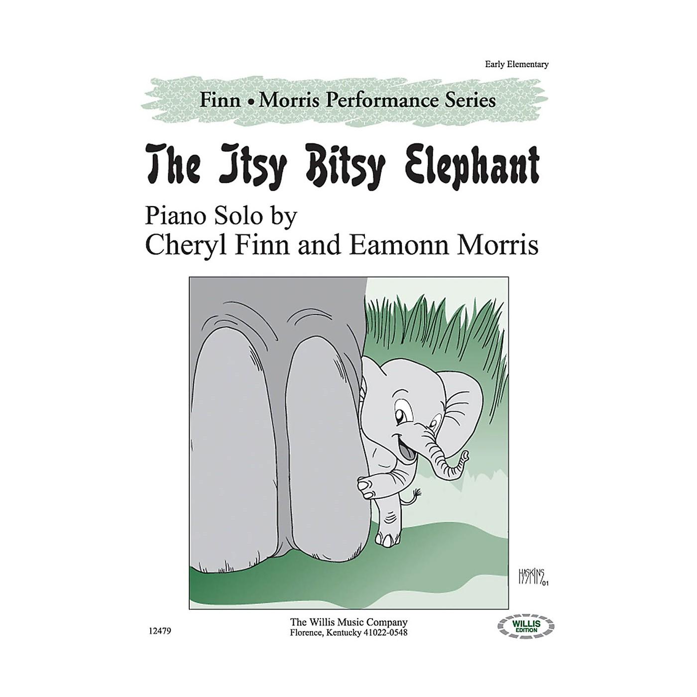 Willis Music The Itsy Bitsy Elephant Willis Series by Cheryl Finn & Eamonn Morris (Level Early Elem) thumbnail