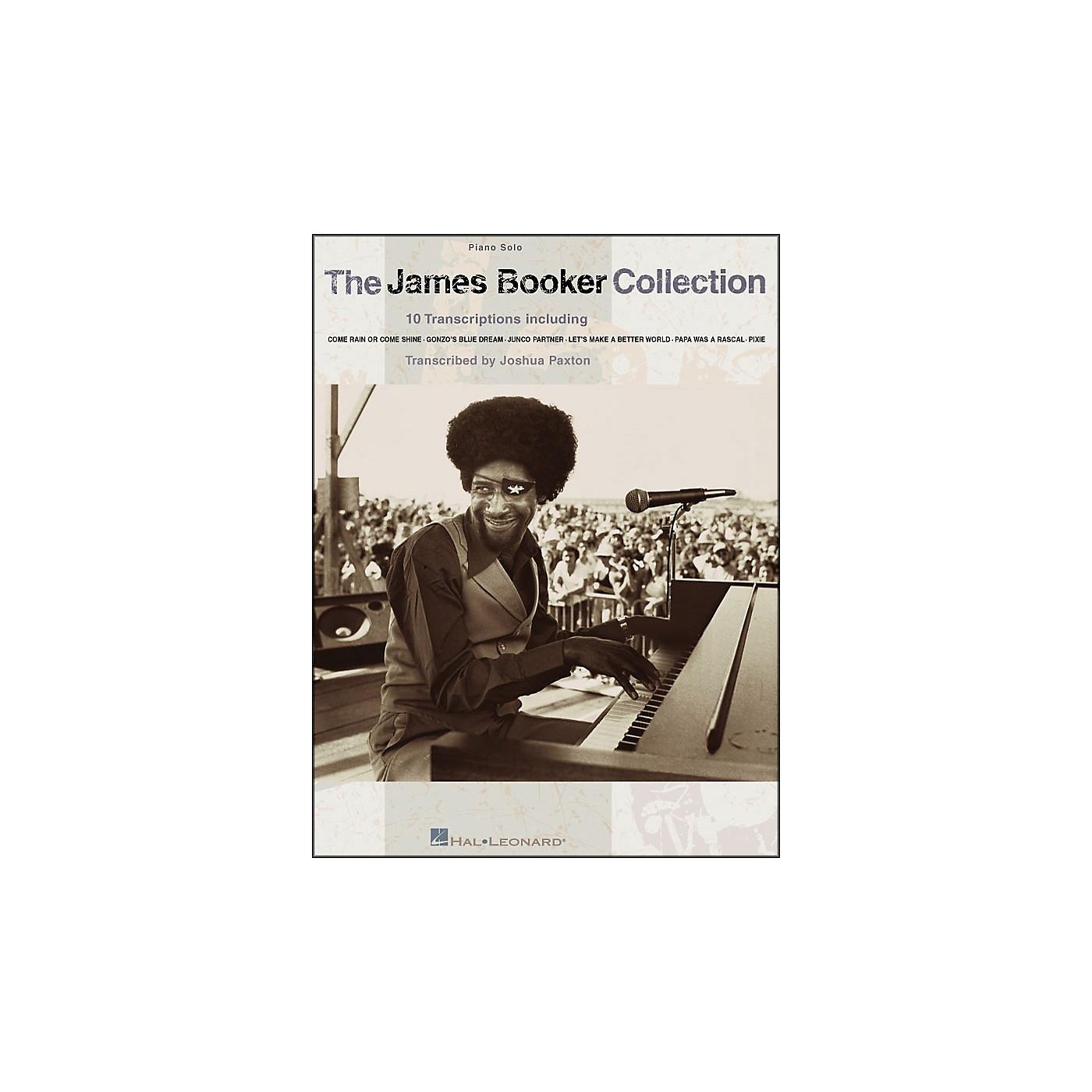 Hal Leonard The James Booker Collection Piano Solo thumbnail