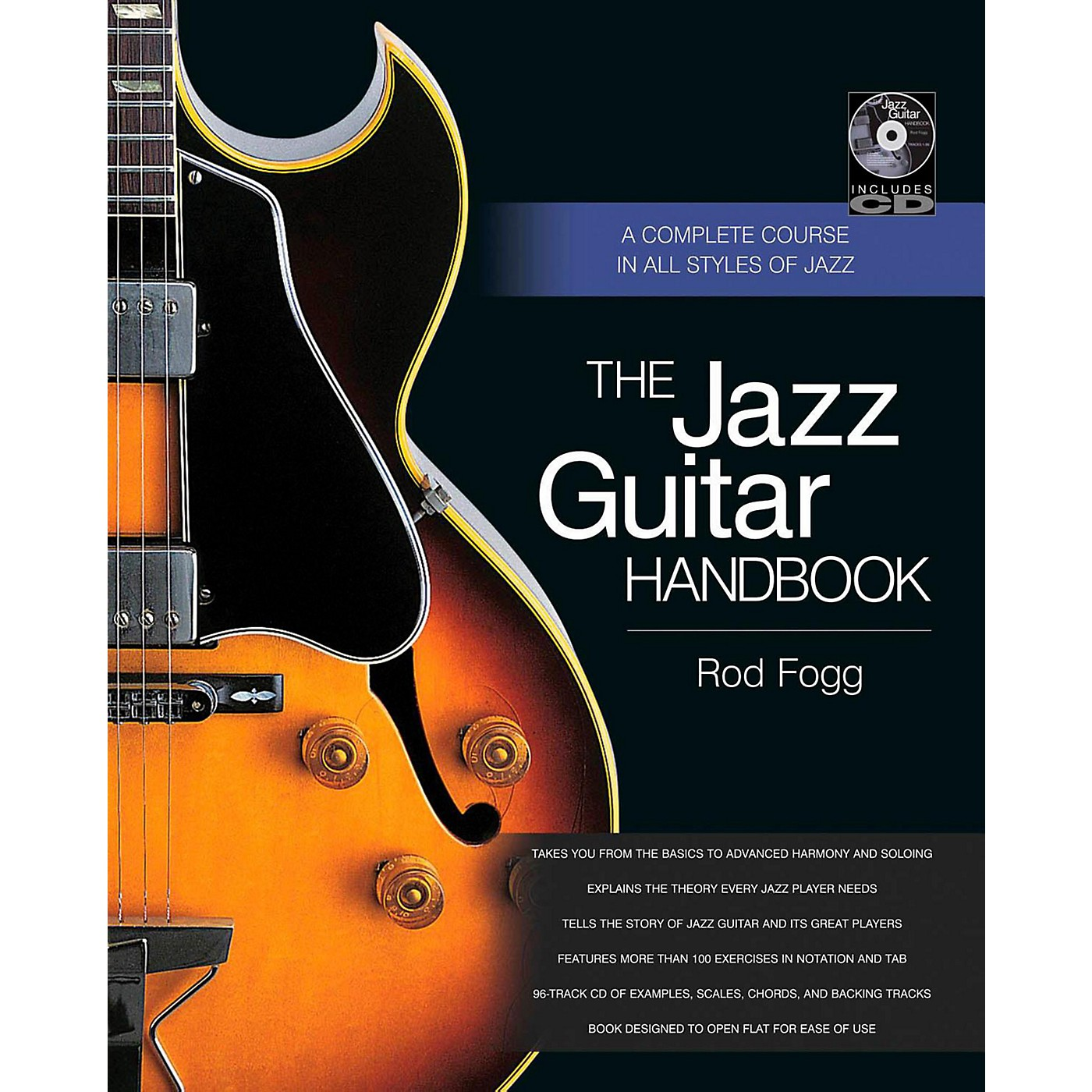 Backbeat Books The Jazz Guitar Handbook:  A Complete Course in All Styles of Jazz thumbnail