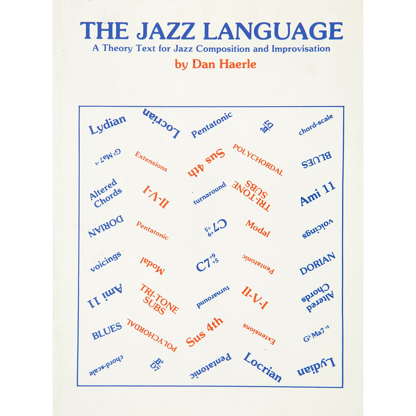 Alfred The Jazz Language A Theory Text for Jazz Composition and Improvisation Book thumbnail