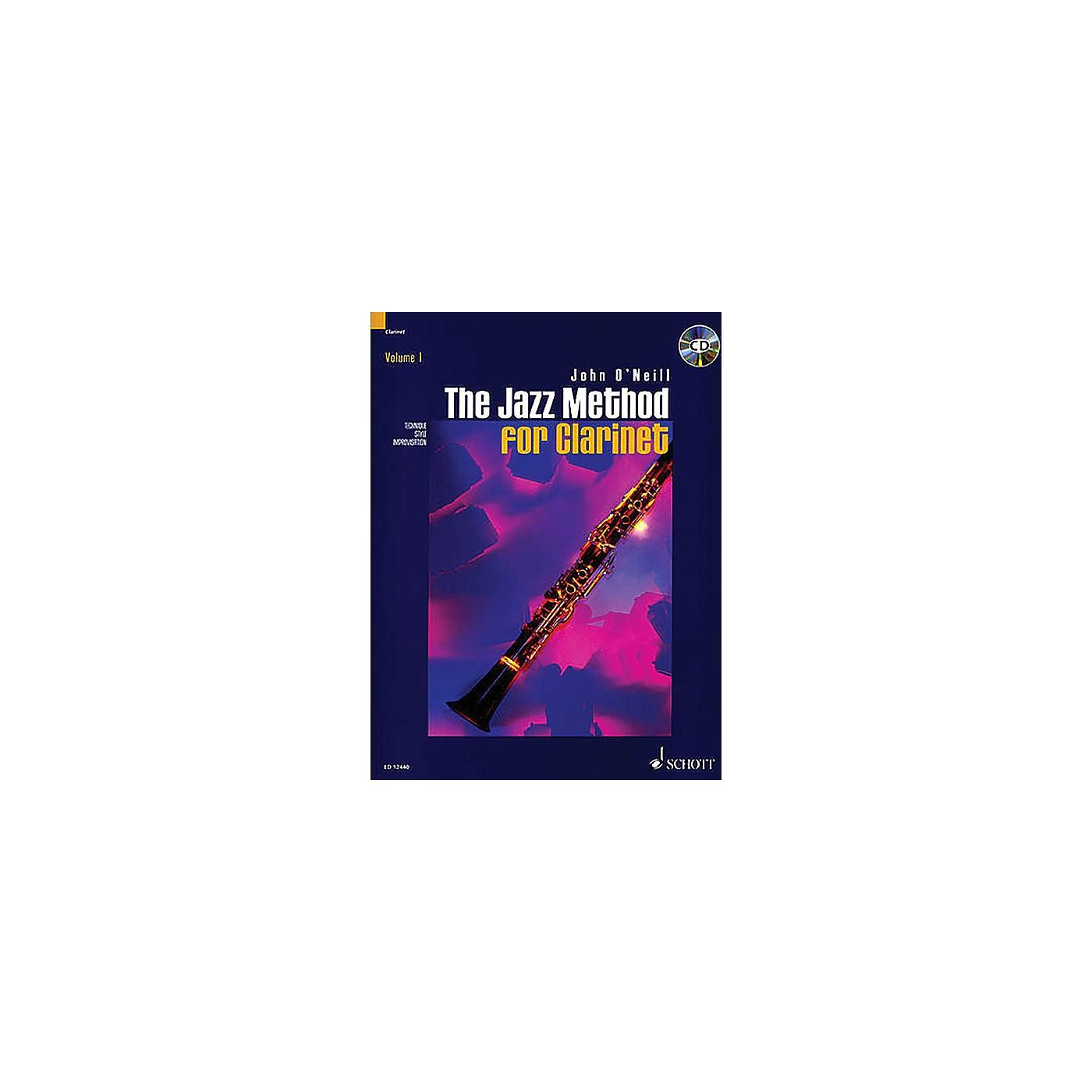 Schott The Jazz Method for Clarinet Schott Series thumbnail