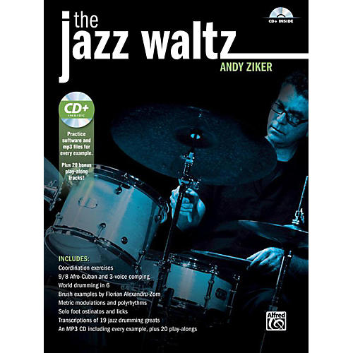 Alfred The Jazz Waltz by Andy Ziker Drum Book & CD thumbnail
