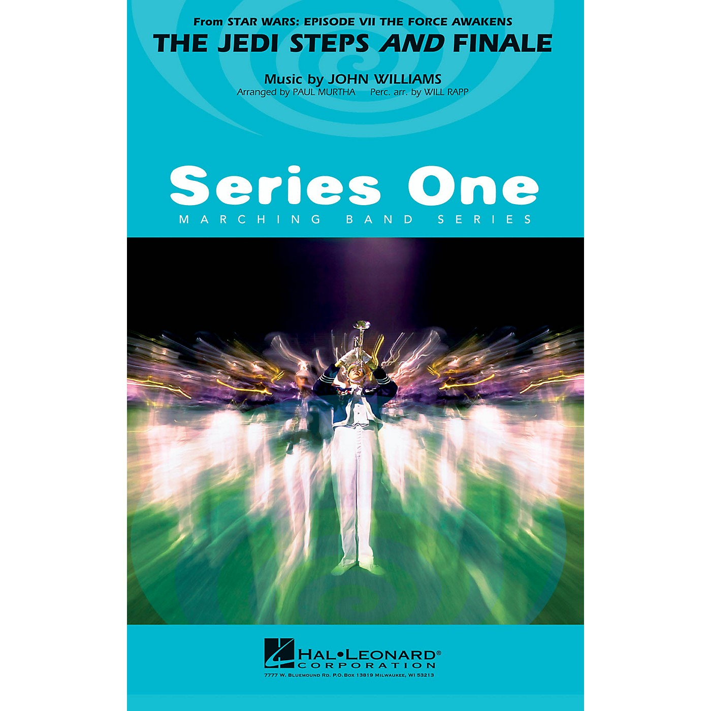 Hal Leonard The Jedi Steps and Finale (from Star Wars: The Force Awakens) Marching Band Level 2 by Paul Murtha thumbnail