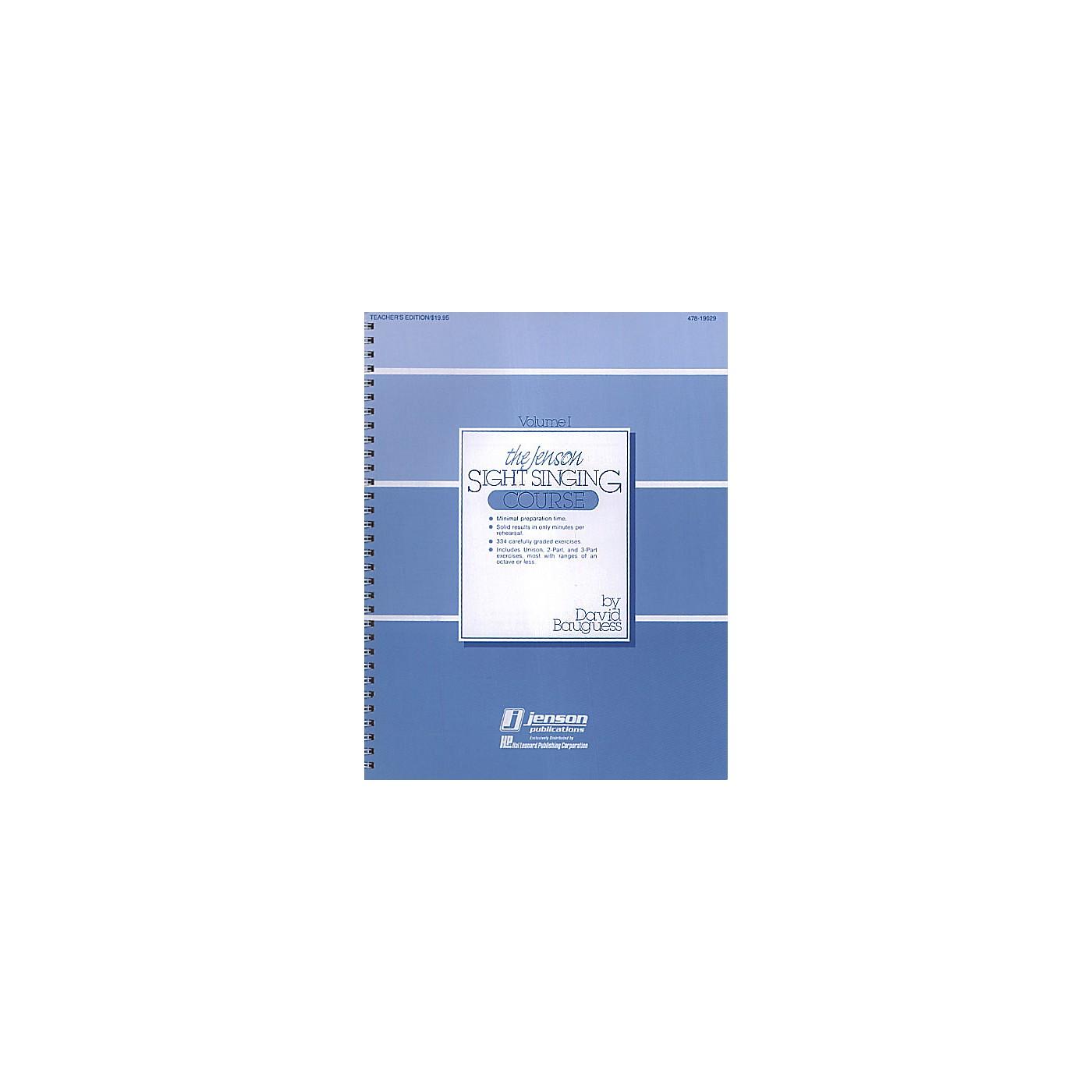Hal Leonard The Jenson Sight Singing Course (Vol. I) TEACHER ED composed by David Bauguess thumbnail