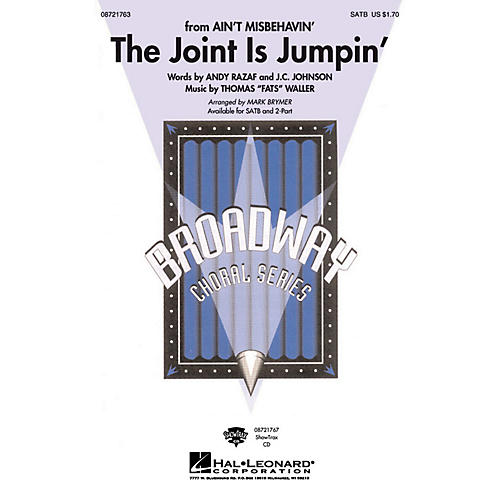 Hal Leonard The Joint Is Jumpin' 2-Part Arranged by Mark Brymer thumbnail