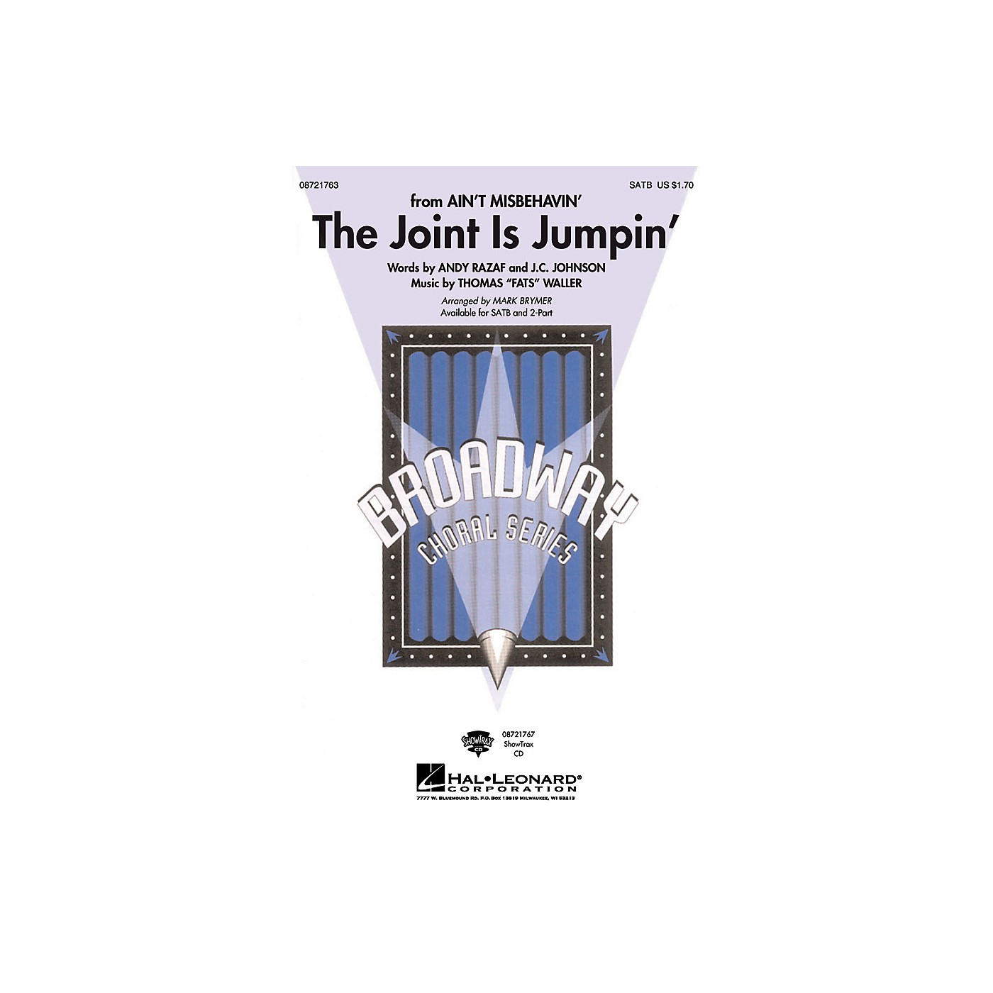 Hal Leonard The Joint Is Jumpin' SATB arranged by Mark Brymer thumbnail