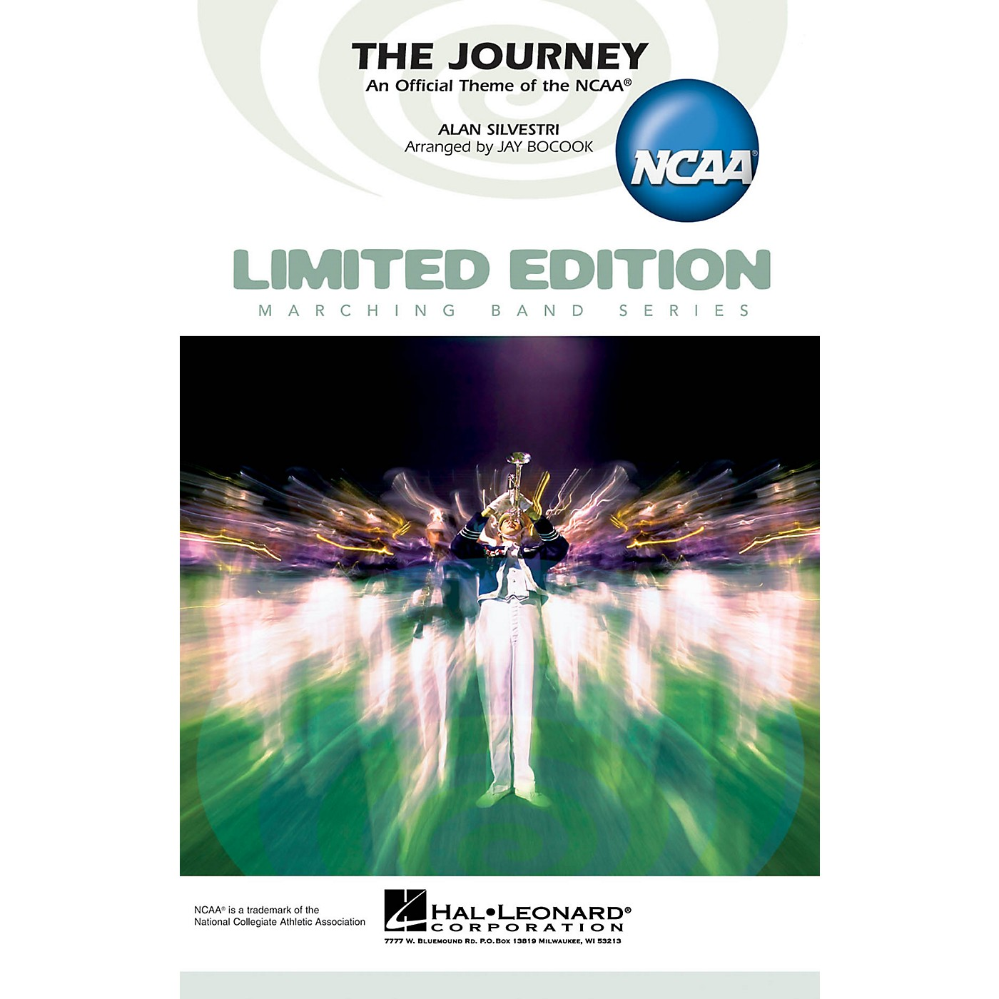 Hal Leonard The Journey (An Official Theme of the NCAA) Marching Band Level 4 Arranged by Jay Bocook thumbnail