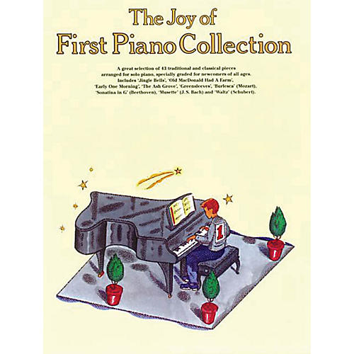 Music Sales The Joy of First Piano Collection Music Sales America Series Softcover thumbnail