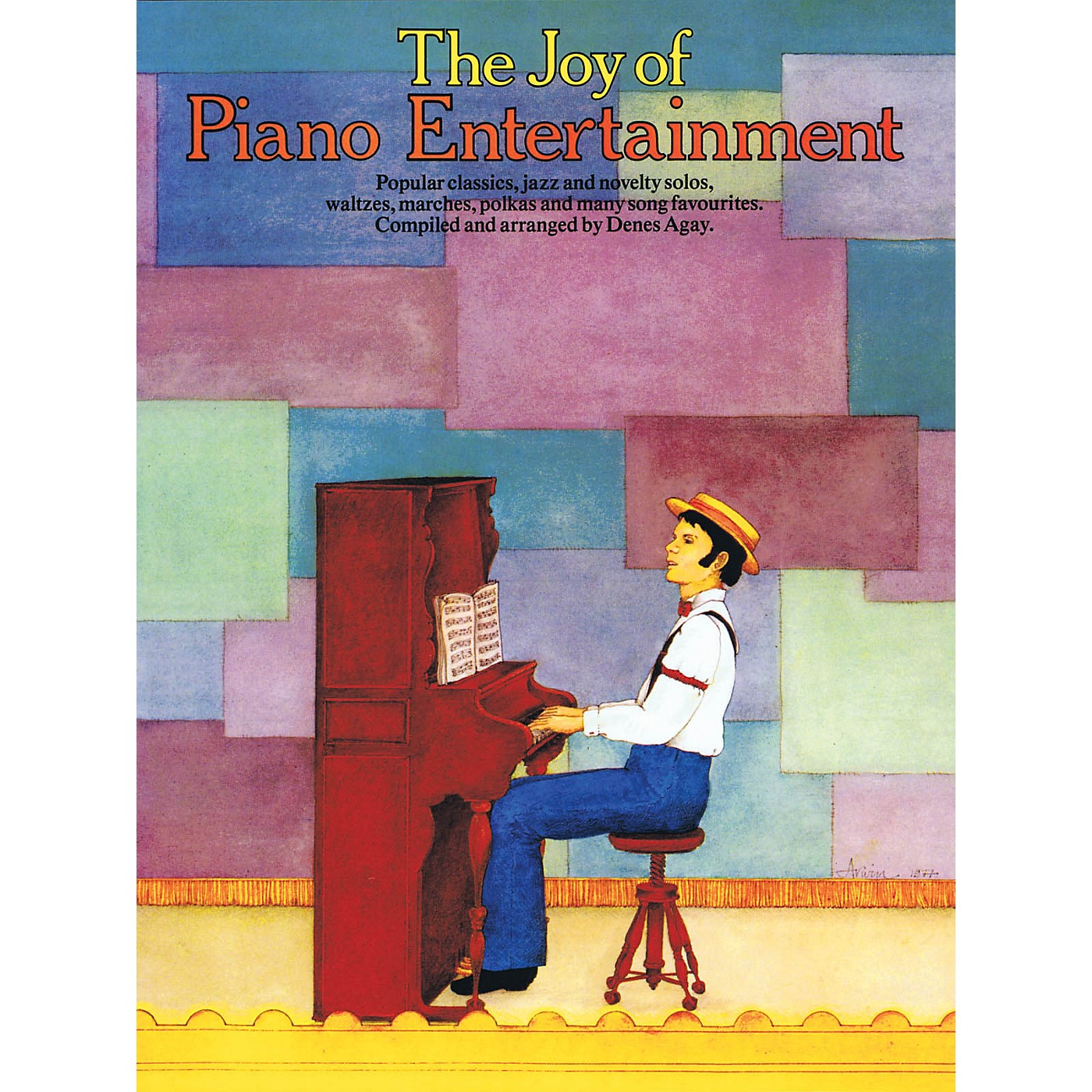 Music Sales The Joy of Piano Entertainment Yorktown Series Softcover thumbnail