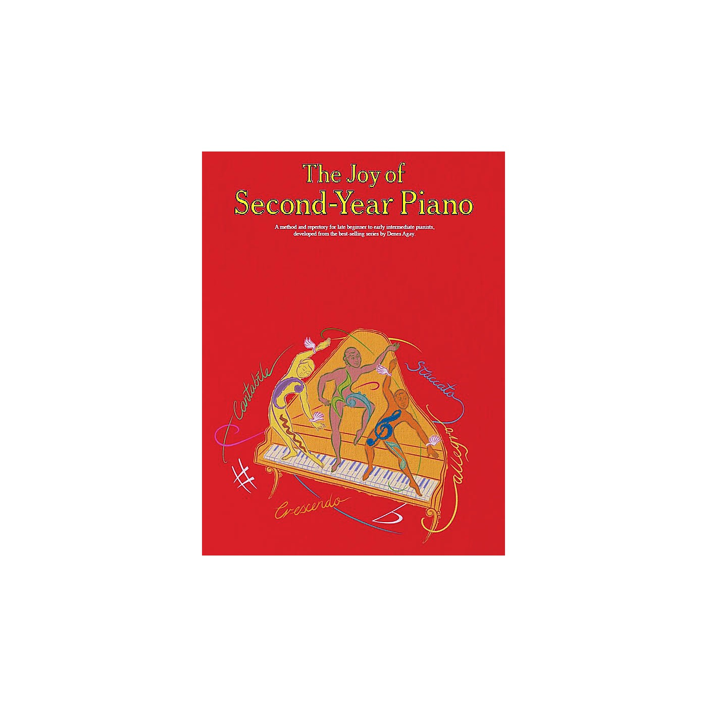 Music Sales The Joy of Second-Year Piano Music Sales America Series Softcover thumbnail