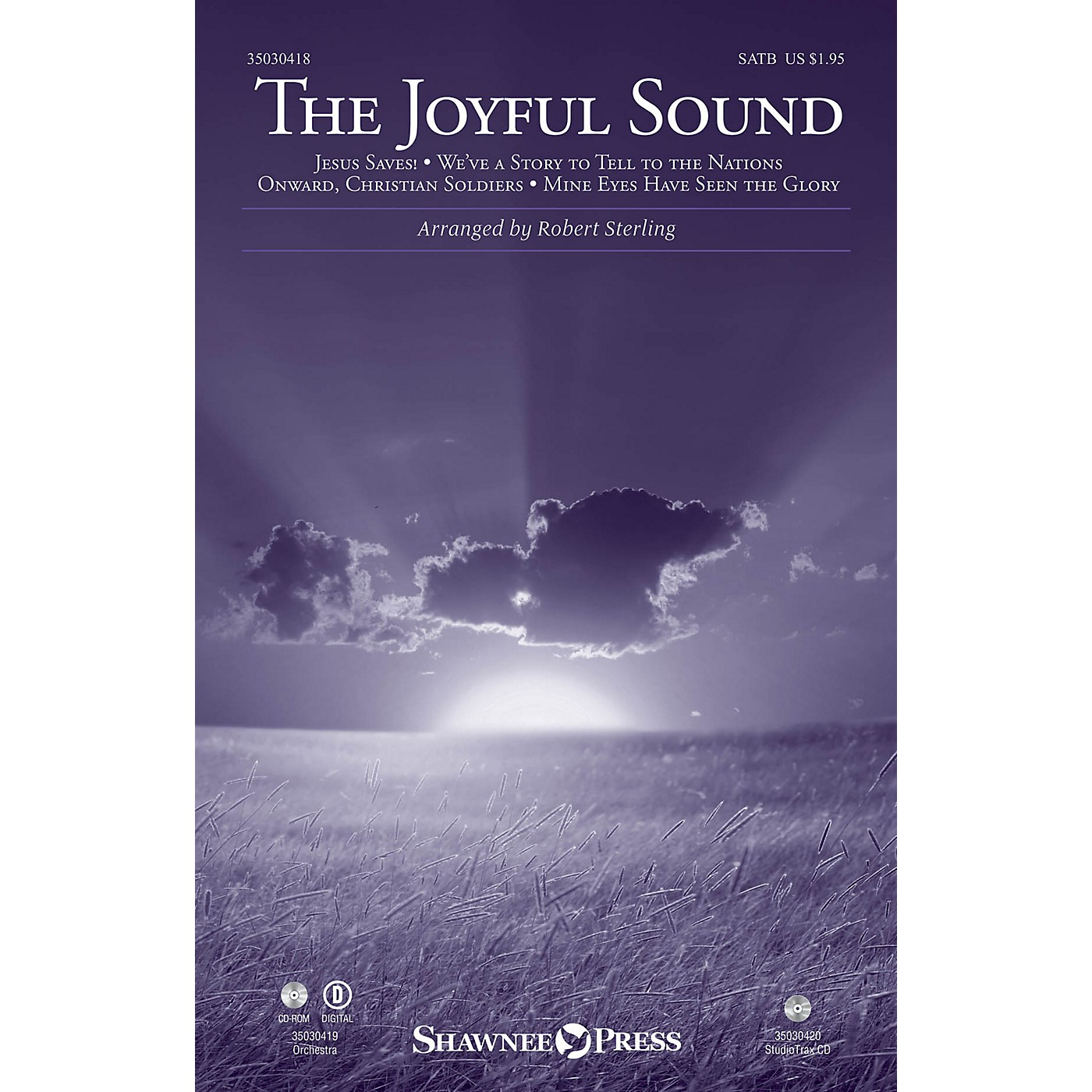 Shawnee Press The Joyful Sound SATB arranged by Robert Sterling thumbnail