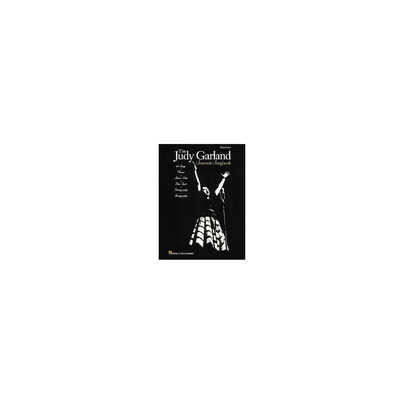 Hal Leonard The Judy Garland Souvenir Piano, Vocal, Guitar Songbook thumbnail