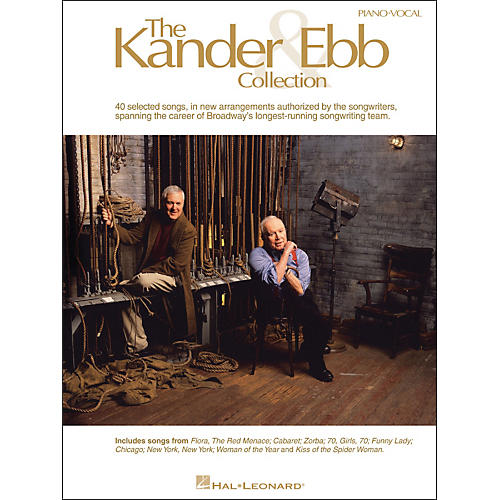 Hal Leonard The Kander & Ebb Collection arranged for piano, vocal, and guitar (P/V/G) thumbnail