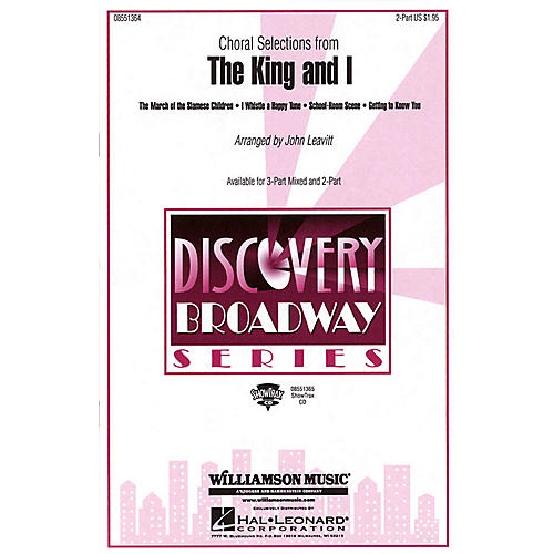 Hal Leonard The King and I (Choral Selections) 3-Part Mixed Arranged by John Leavitt thumbnail