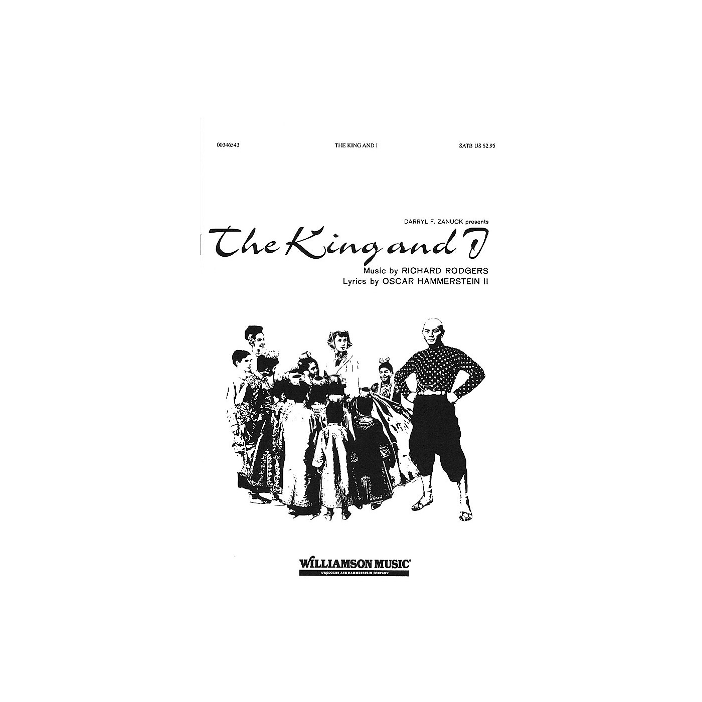 Hal Leonard The King and I (Choral Selections) SATB arranged by Clay Warnick thumbnail