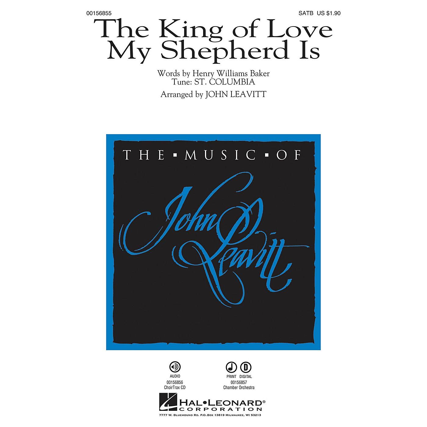Hal Leonard The King of Love My Shepherd Is SATB arranged by John Leavitt thumbnail