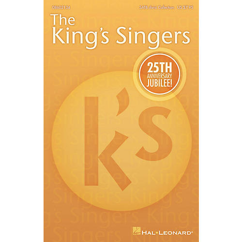 Hal Leonard The King's Singers' 25th Anniversary Jubilee (Collection) SATB Divisi Collection by The King's Singers thumbnail