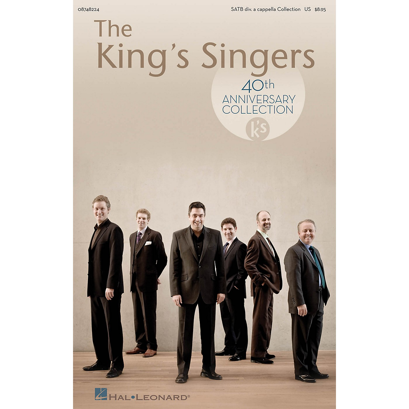 Hal Leonard The King's Singers 40th Anniversary Collection SATB Divisi Collection thumbnail