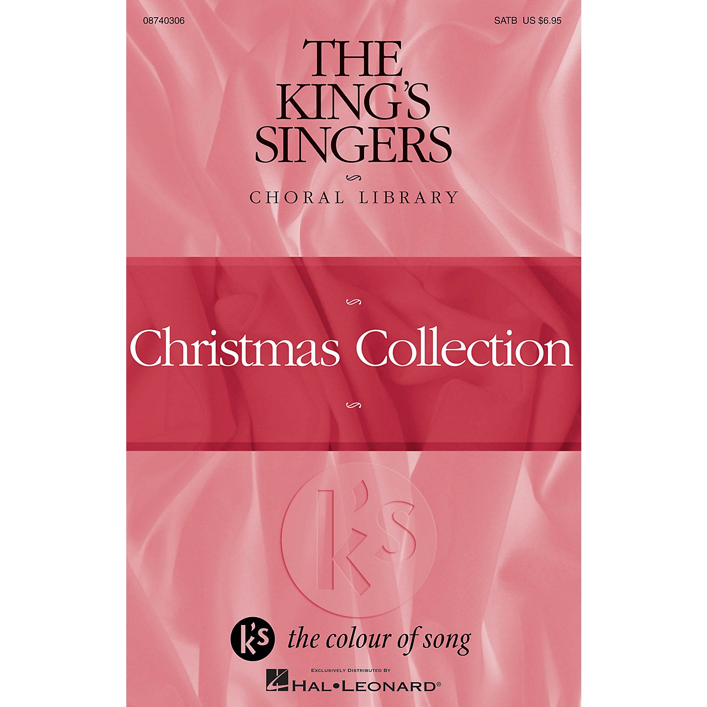 Hal Leonard The King's Singers Choral Library (Christmas Collection) 4 Part by The King's Singers thumbnail
