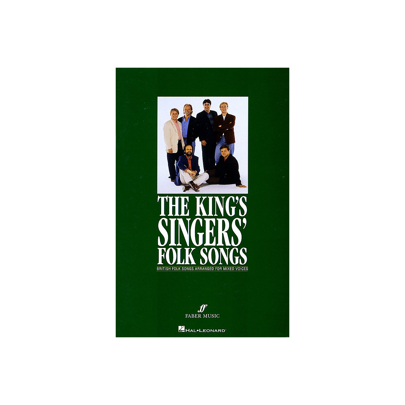 Faber Music LTD The King's Singers' Folk Songs (Collection) SATB Divisi thumbnail
