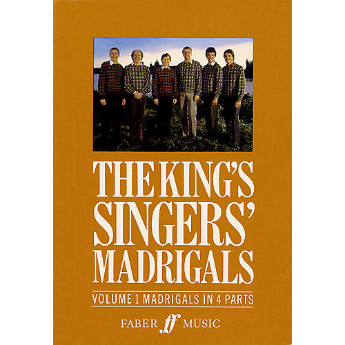 Faber Music LTD The King's Singers' Madrigals (Vol. 1) (Collection) 4 Part Edited by Clifford Bartlett thumbnail