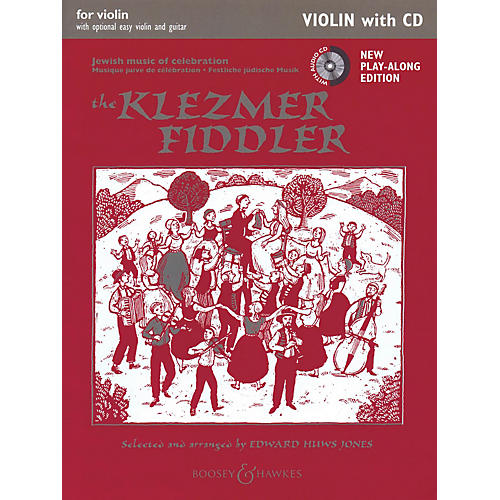 Boosey and Hawkes The Klezmer Fiddler Boosey & Hawkes Chamber Music Series Softcover with CD thumbnail