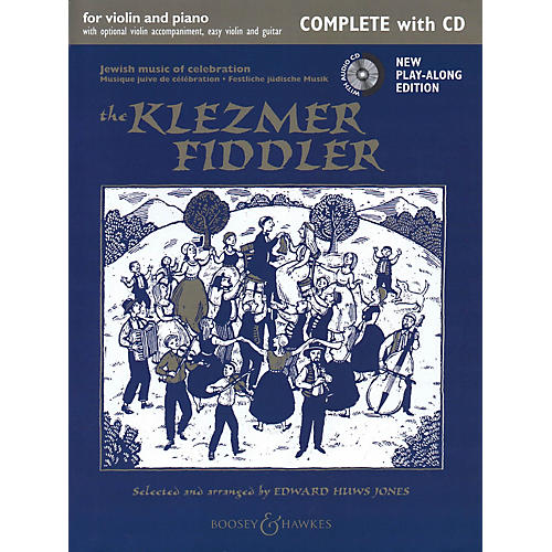 Boosey and Hawkes The Klezmer Fiddler Fiddle Series Softcover with CD thumbnail