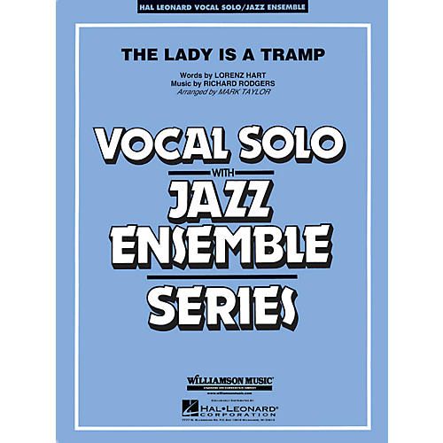 Hal Leonard The Lady Is A Tramp - Vocal Solo Jazz Ensemble Series Level 4 thumbnail