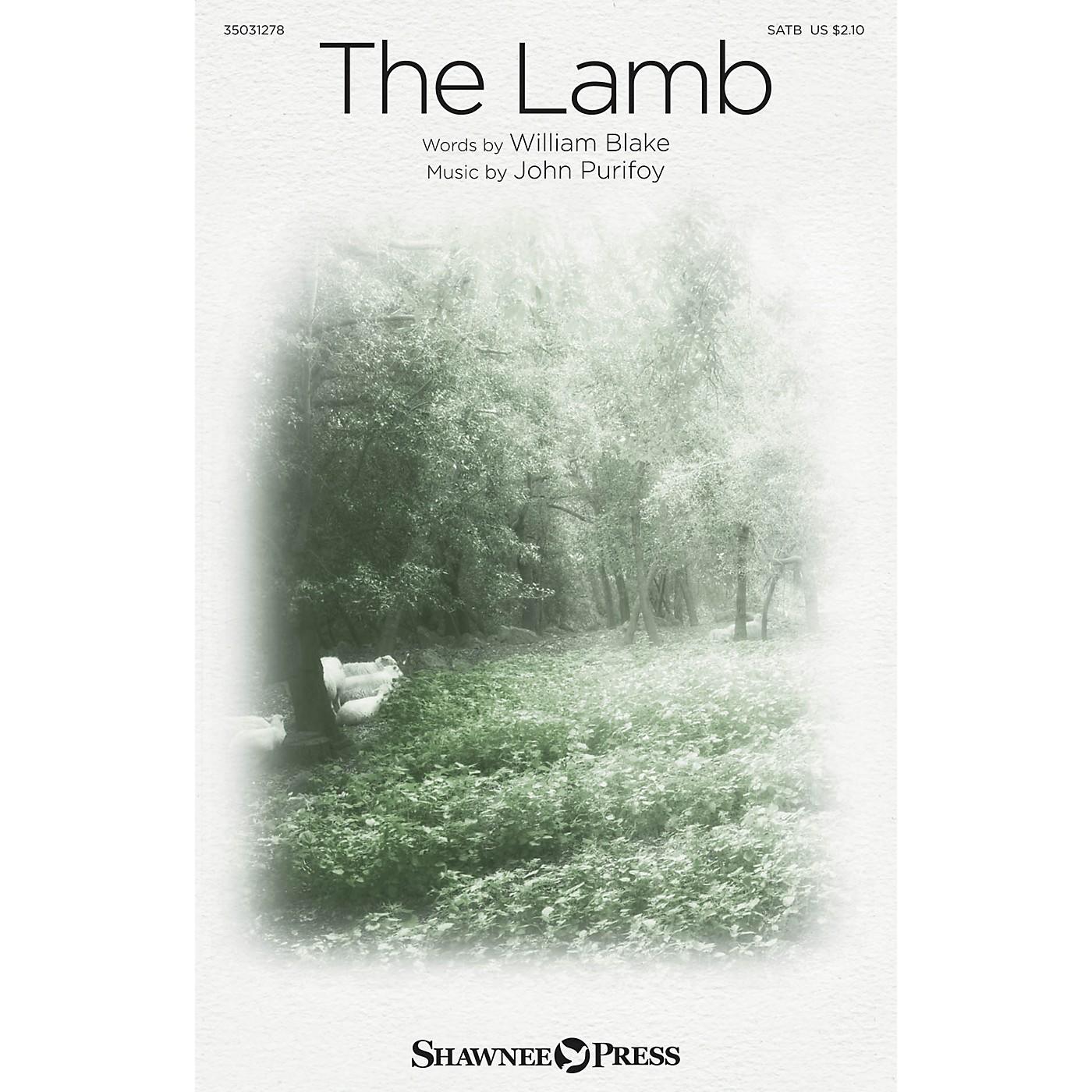 Shawnee Press The Lamb SATB composed by John Purifoy thumbnail