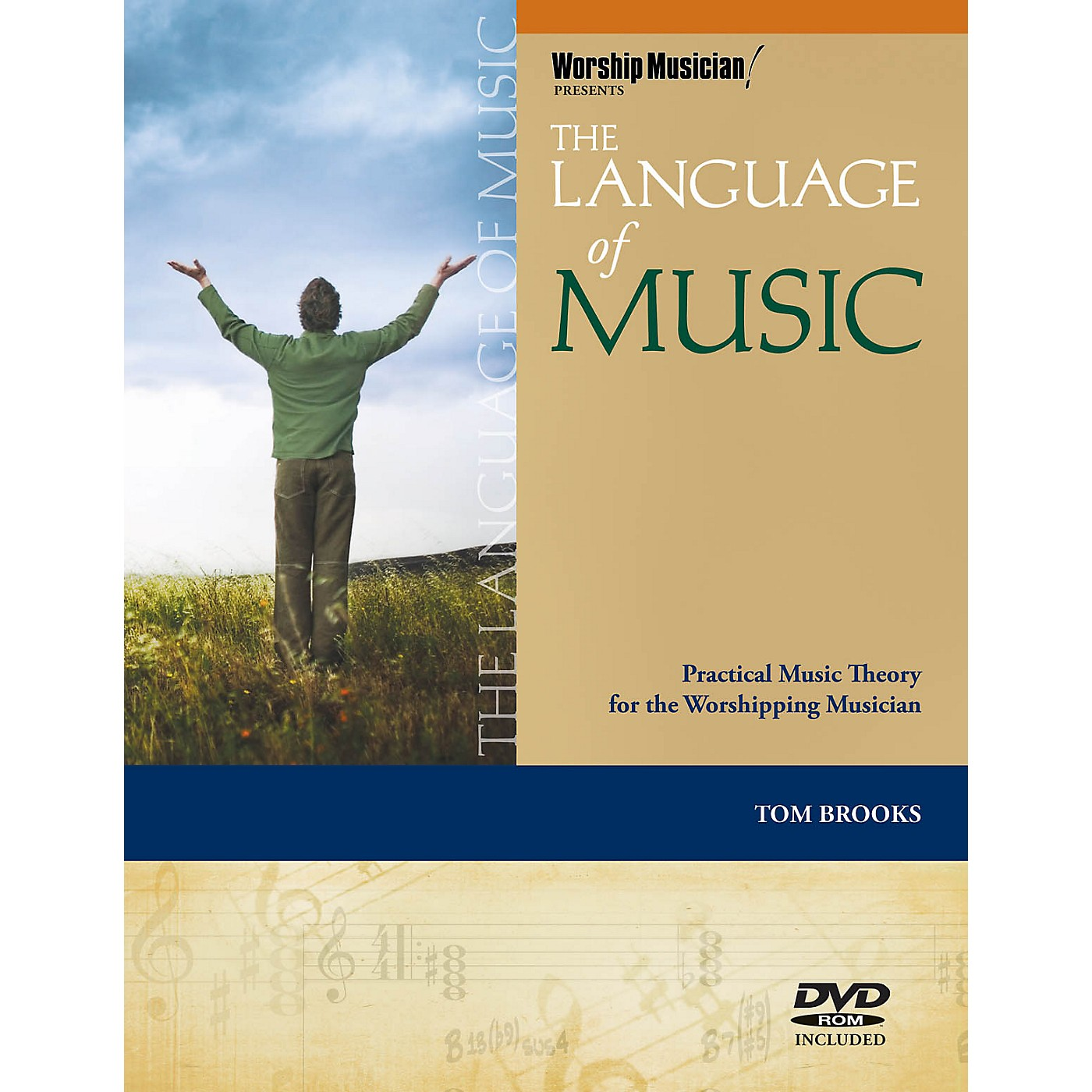 Hal Leonard The Language of Music Worship Musician Presents Series Softcover with DVD-ROM Written by Tom Brooks thumbnail