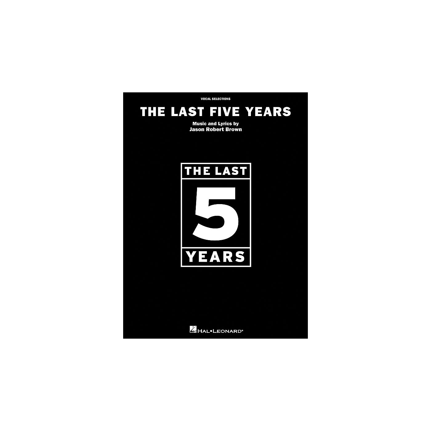 Hal Leonard The Last Five Years Vocal Selections arranged for piano, vocal, and guitar (P/V/G) thumbnail