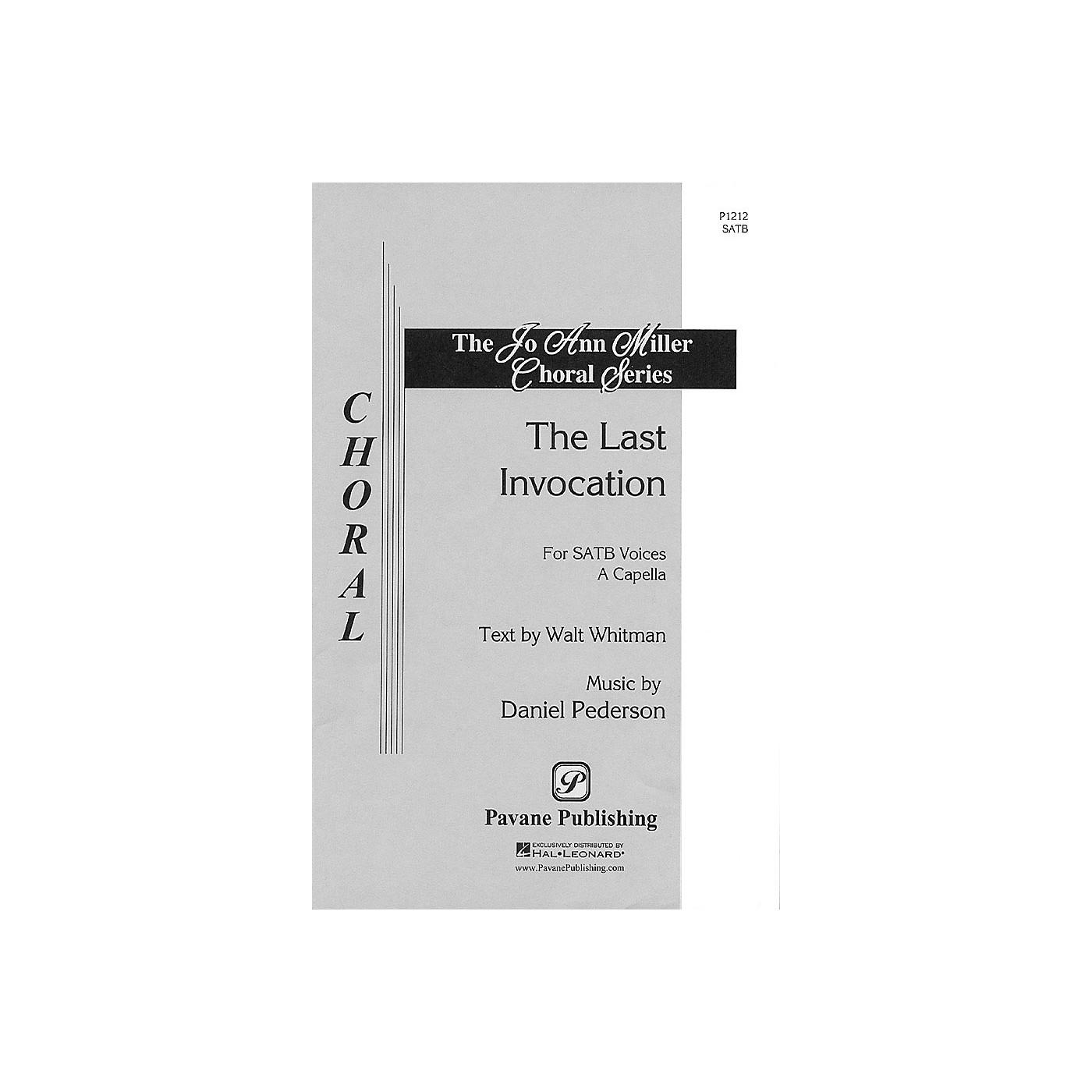 Pavane The Last Invocation (SATB a cappella) SATB composed by Dan Pederson thumbnail