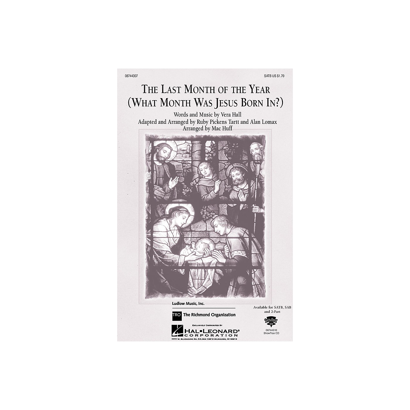 Hal Leonard The Last Month of the Year ShowTrax CD Arranged by Mac Huff thumbnail
