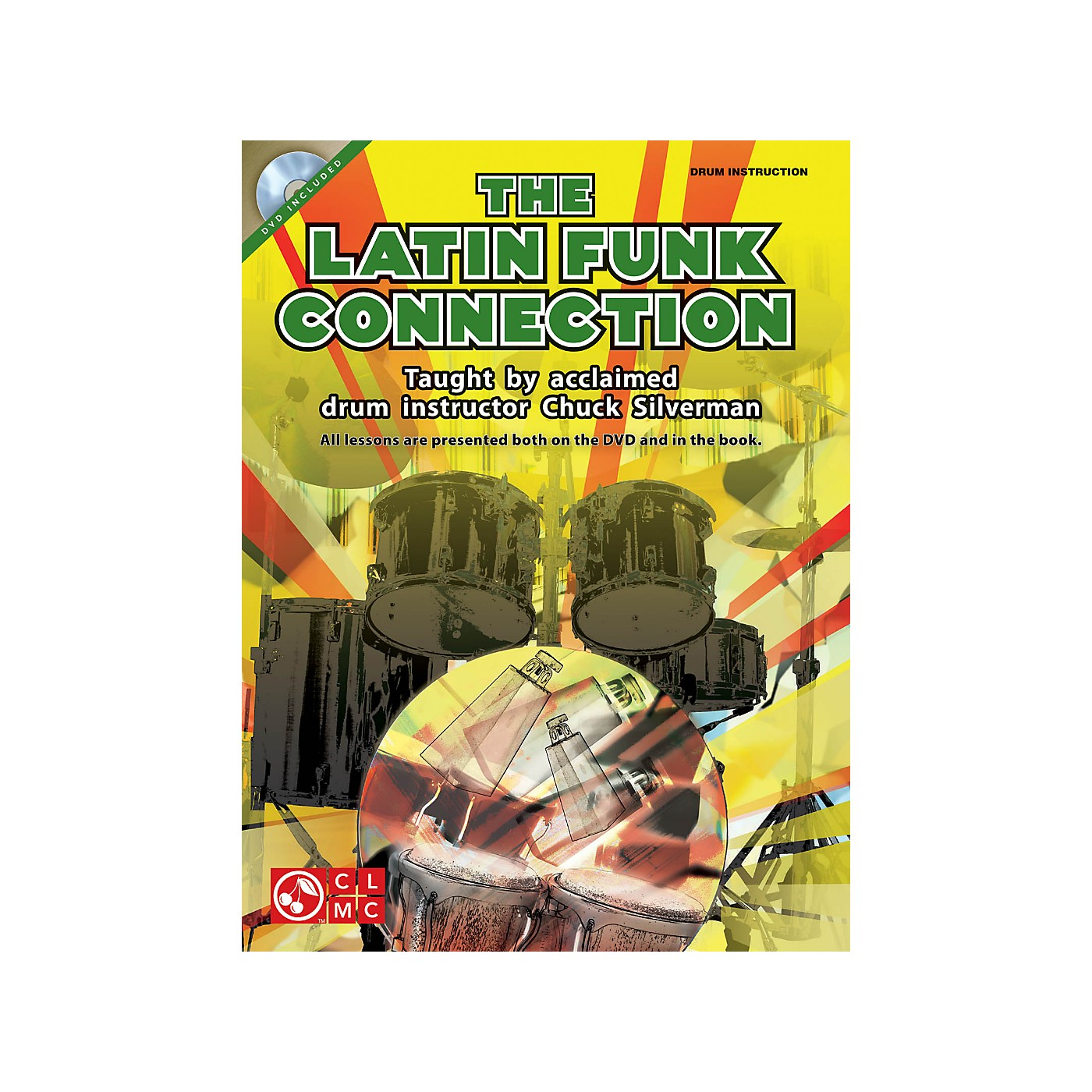 Hal Leonard The Latin Funk Connection - Drumset by Chuck Silverman Book/DVD thumbnail