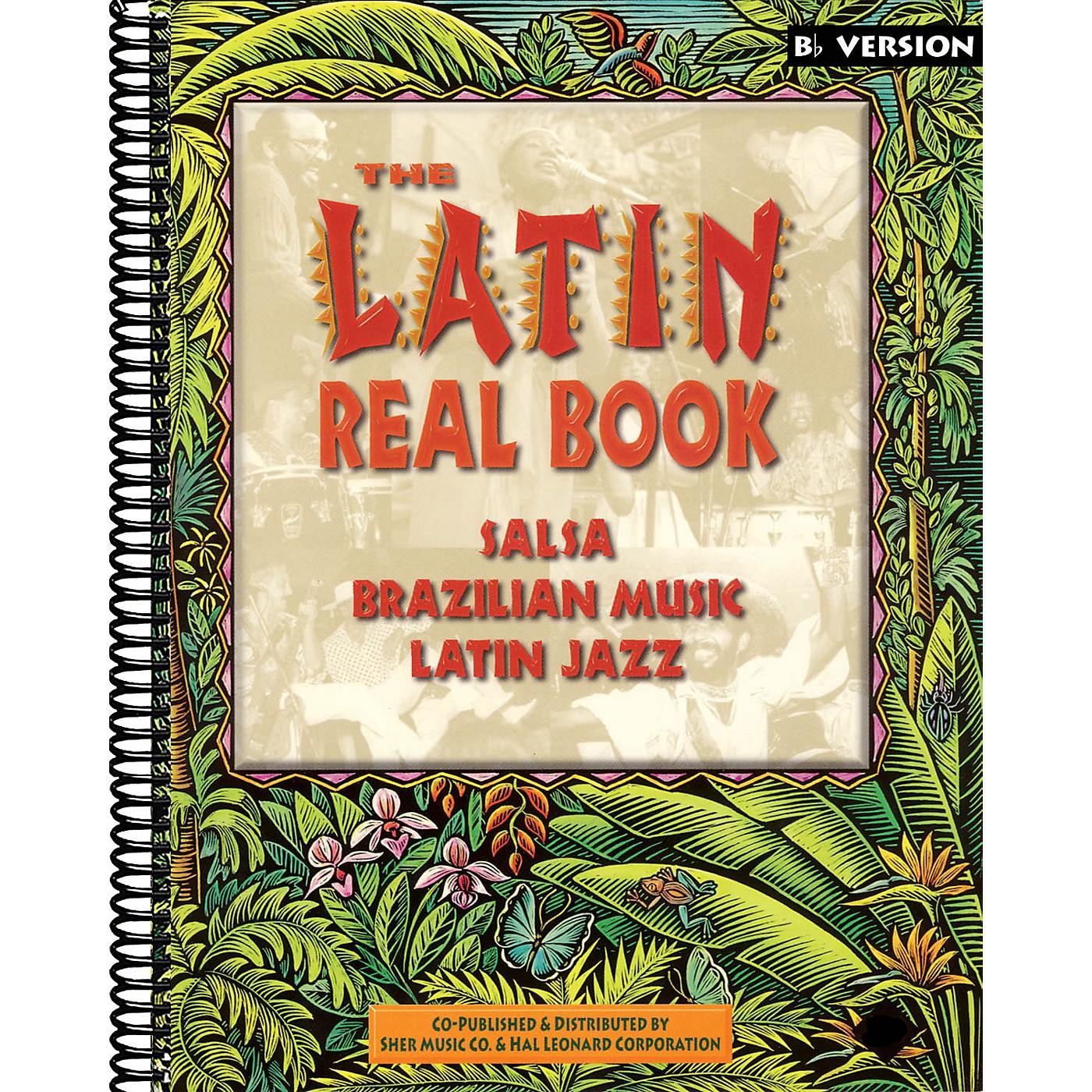 Hal Leonard The Latin Real Book - E-flat Edition Fake Book Series thumbnail