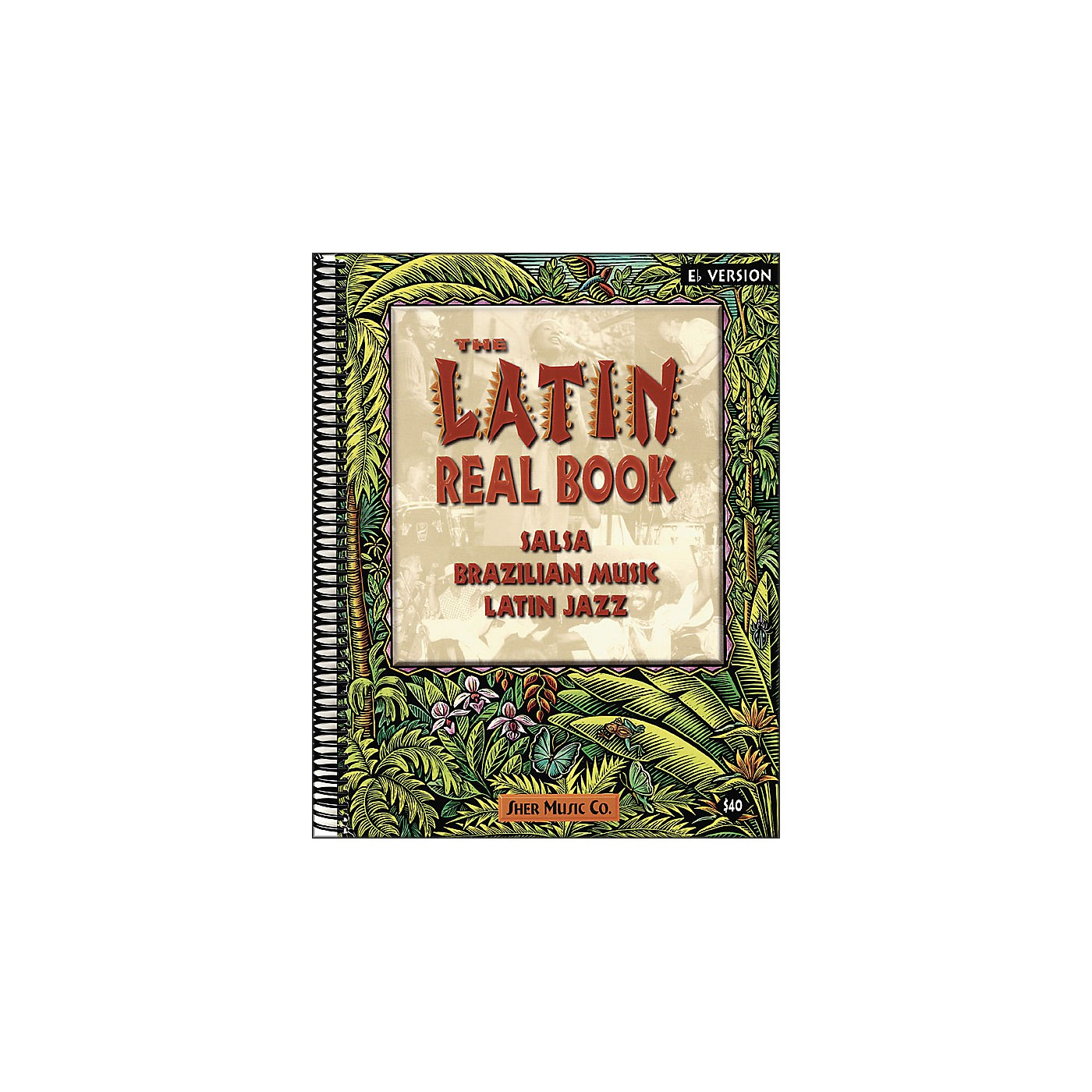 Hal Leonard The Latin Real Book B-Flat Edition thumbnail
