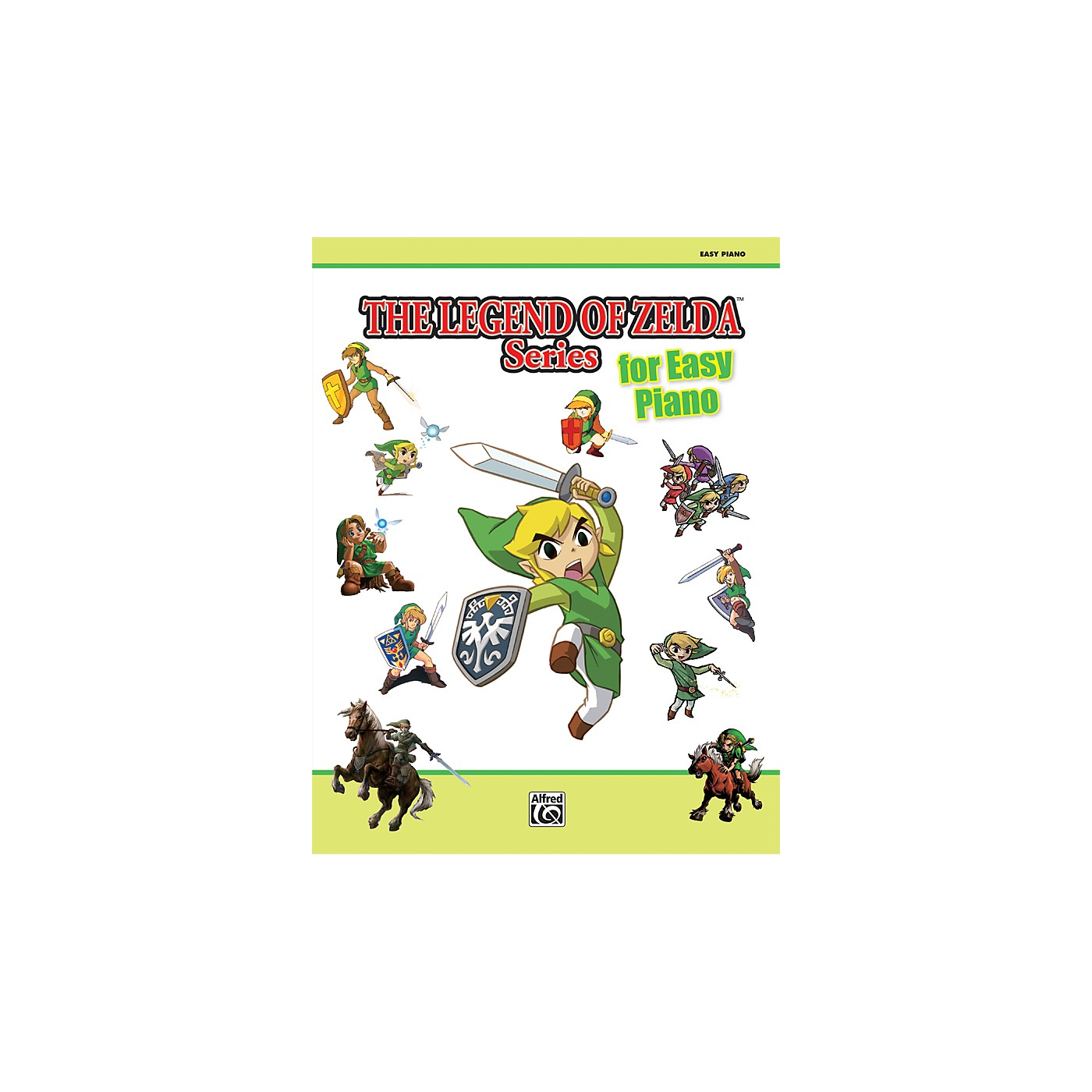 Alfred The Legend of Zelda Series for Easy Piano Book thumbnail