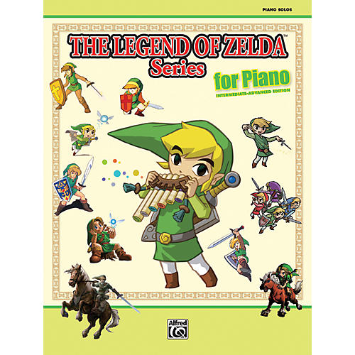 Alfred The Legend of Zelda Series for Piano Book thumbnail