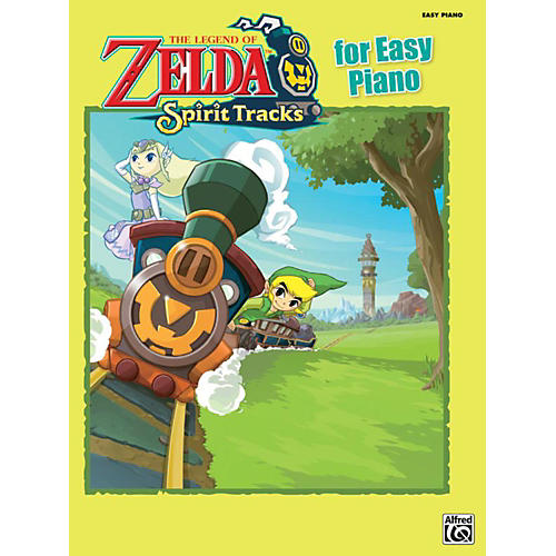 Alfred The Legend of Zelda Spirit Tracks for Easy Piano Book thumbnail