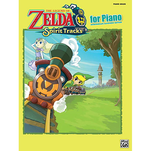 Alfred The Legend of Zelda Spirit Tracks for Piano Solos Book thumbnail