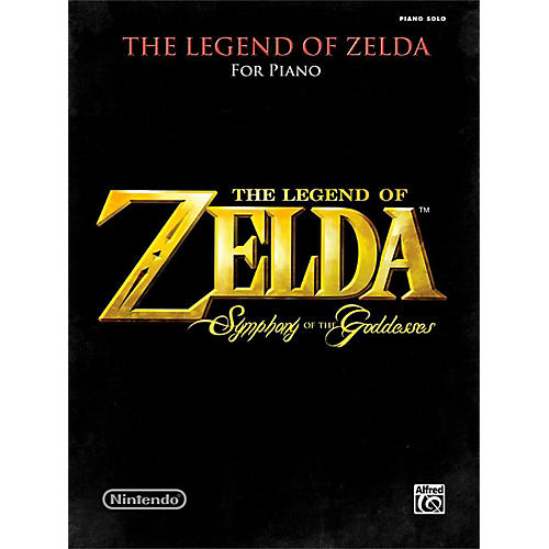 Alfred The Legend of Zelda Symphony the Goddesses Late Intermediate Early Advanced Piano Solos Songbook thumbnail