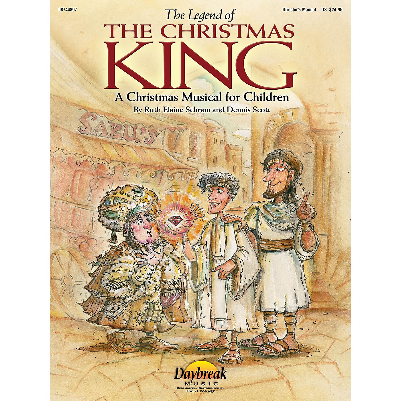 Hal Leonard The Legend of the Christmas King Preview Pak Composed by Ruth Elaine Schram thumbnail
